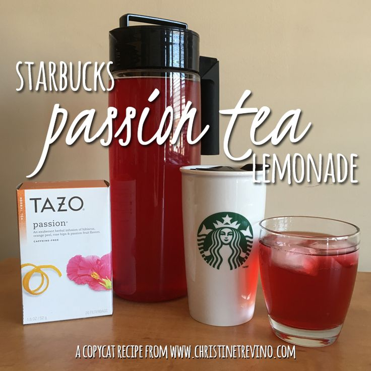 For the price of a tall drink made at the local Starbucks, I can brew more than two quarts of this copycat Starbucks Passion Tea Lemonade at home.