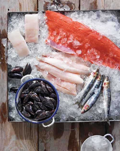 How to Eat Sustainable Seafood, Wholeliving.com #earthday