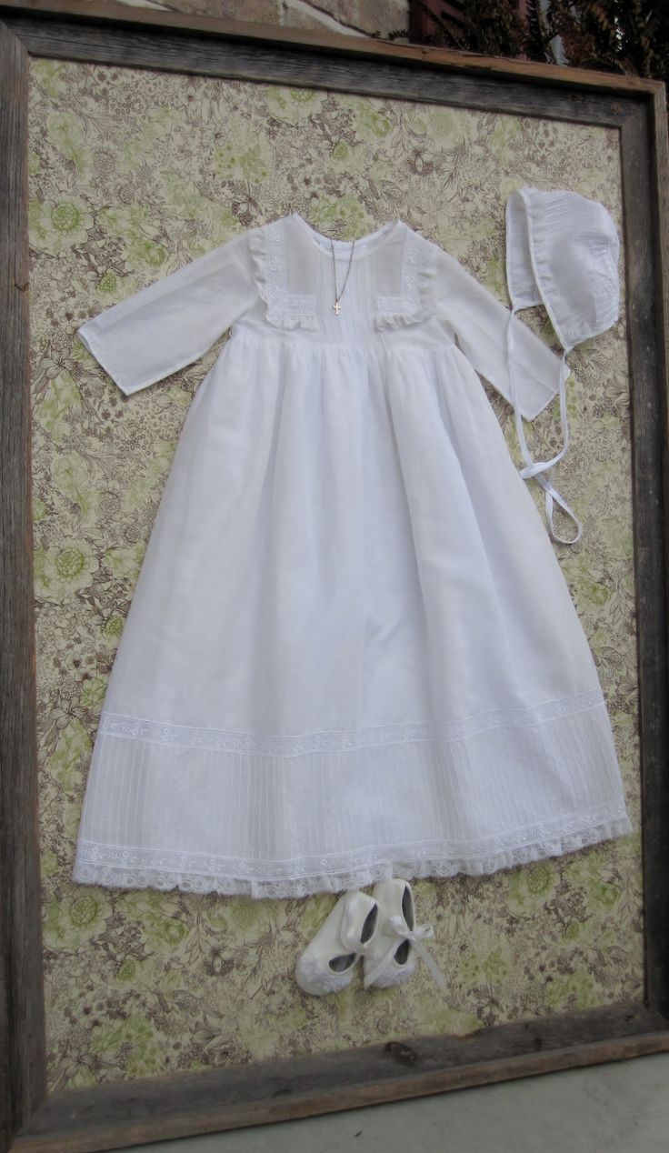 9 Best Preserving Baptism Gown Images On Pinterest Baby