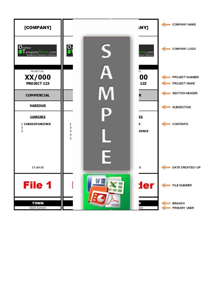 file sticker template