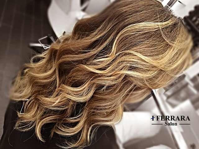 #hair #blond #biondi #wawe #onde