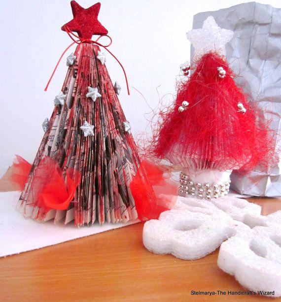 Couple Christmas trees ready to shipornaments red di Stelmarya