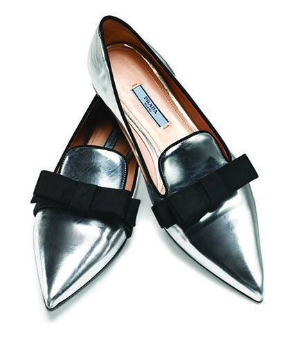 Holiday Gift Idea for Her: Prada flats