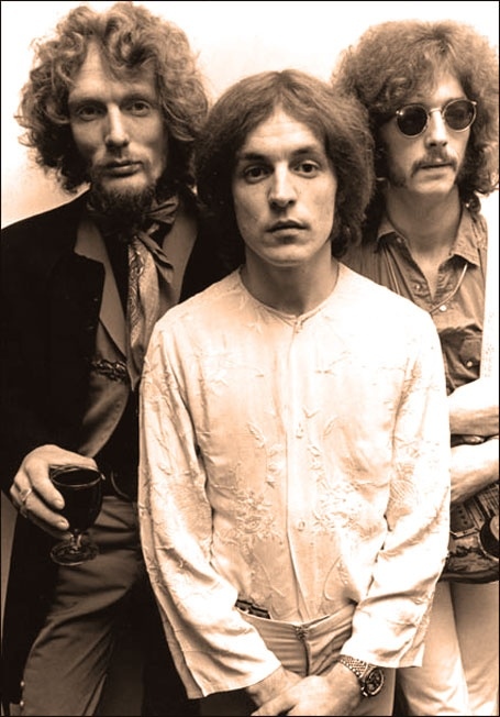 Cream - Eric Clapton, Ginger Baker & Jack Bruce. Although they only released three albums, their music has remained a staple for decades of cover bands to follow.