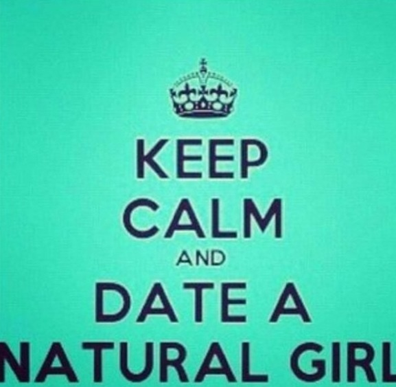 My bias...court a natural girl.