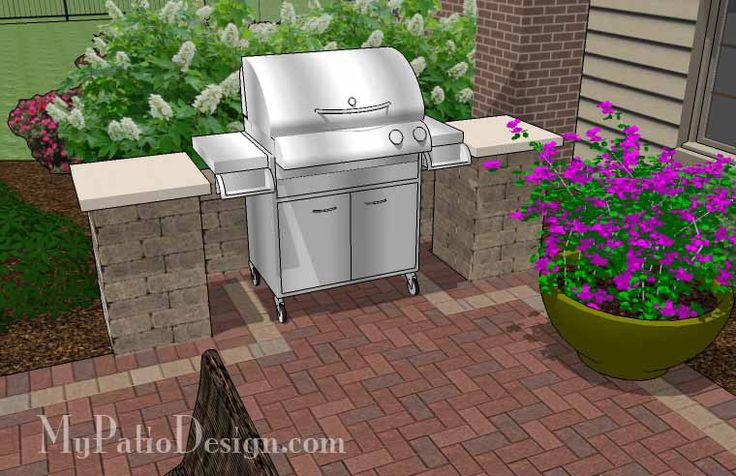 Our Traditional Brick Patio Design with Pergola, Grill Station and Fire Pit will create a fabulous outdoor living space you can enjoy all year. Material List.