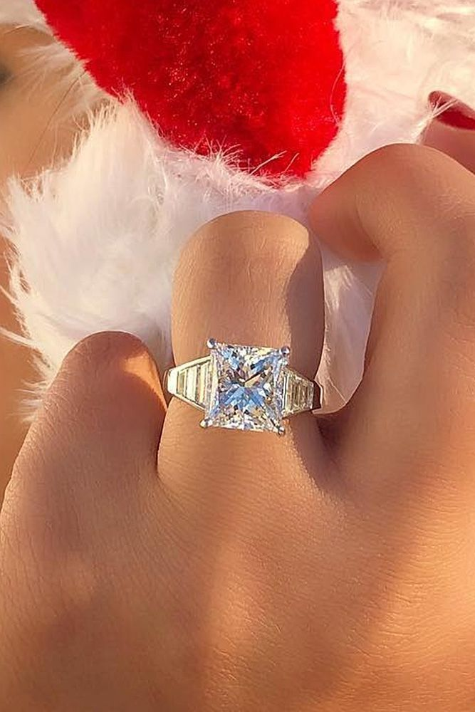 Dazzling Diamond Engagement Rings Of Her Dreams ❤ See more: http://www.weddingforward.com/diamond-engagement-rings/ #weddingforward #bride #bridal #wedding #DazzlingDiamondEngagementRings