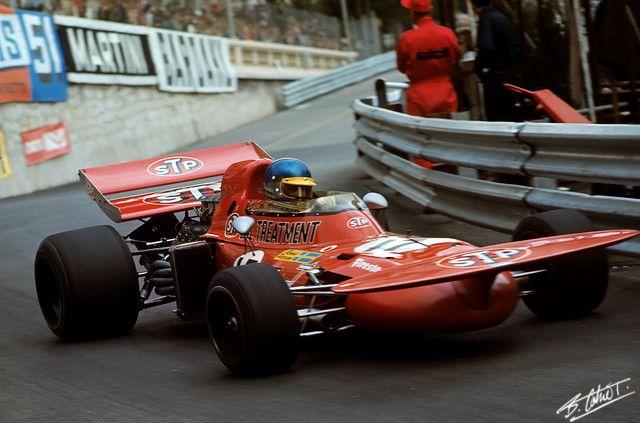 Peterson 1971 Monaco March 711