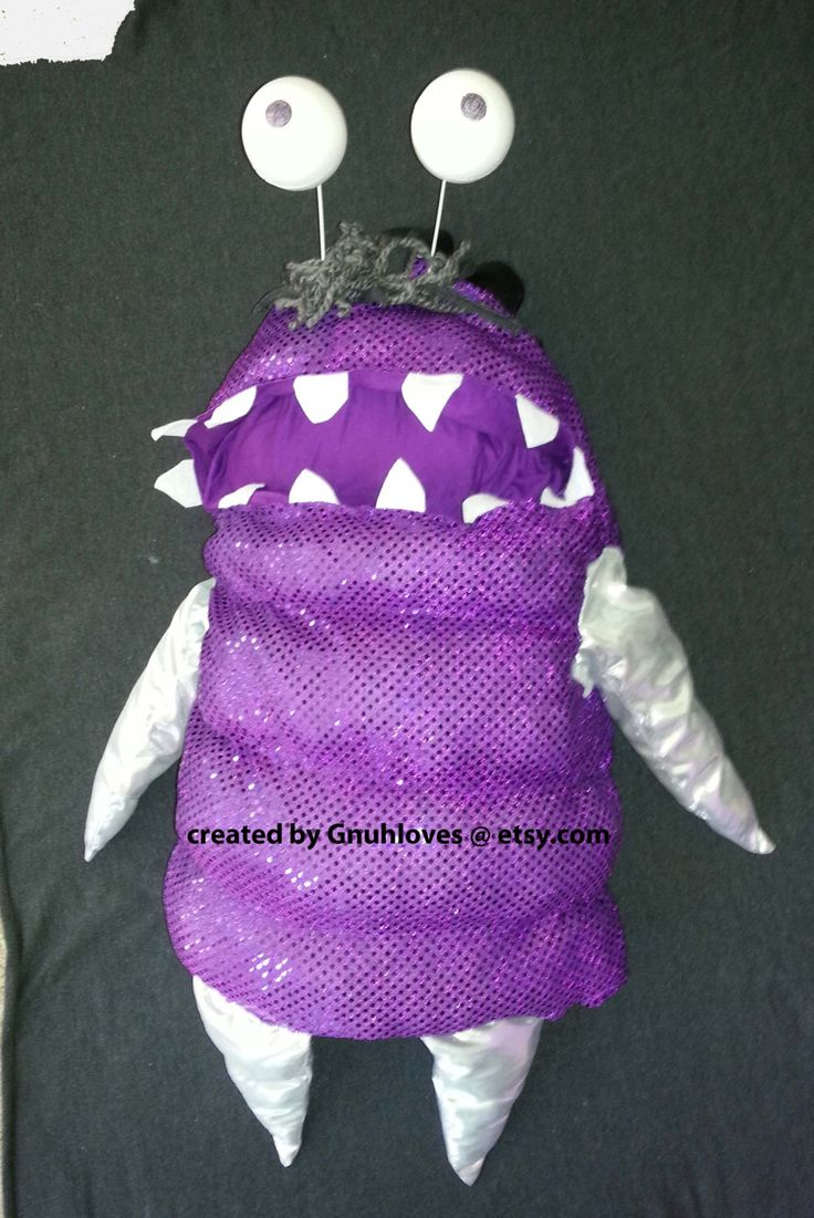 Boo Monsters Inc Costume by Gnuhloves on Etsy https://www.etsy.com/listing/164515529/boo-monsters-inc-costume