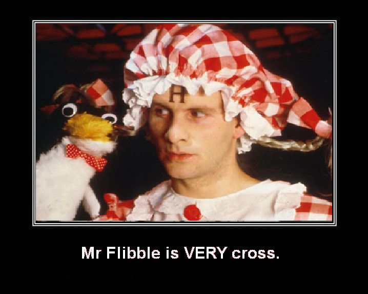 Red Dwarf - Mr Flibble by DoctorWhoOne.deviantart.com on @deviantART