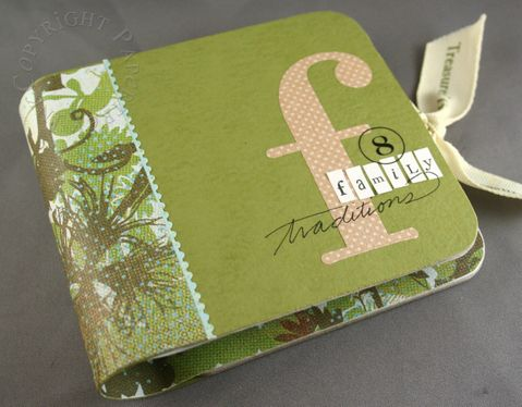 tutorial: coaster mini album with 2 accordion fold-outs