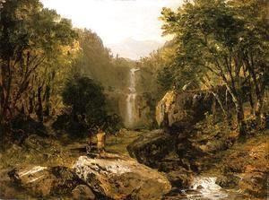 Catskill Mountain Scenery  John Frederick Kensett
