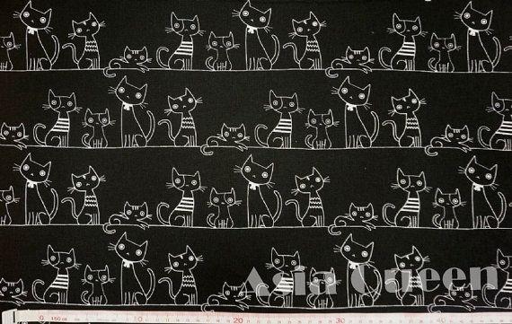 Katzen auf dem Seil -Baumwollbettwäsche