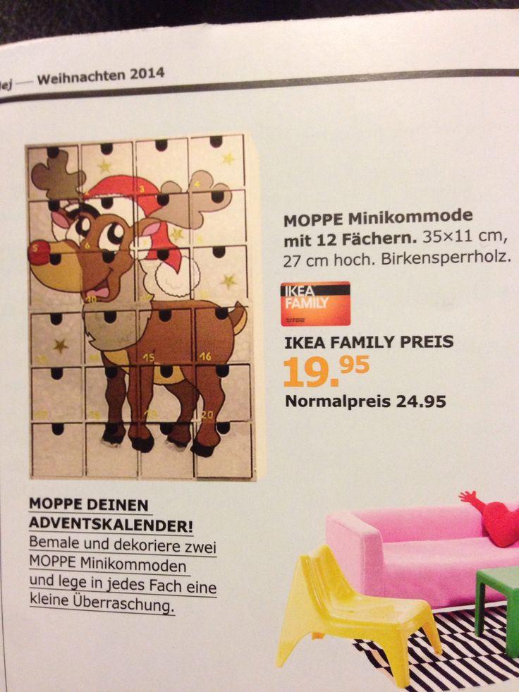 Moppe Adventskalender - IKEA