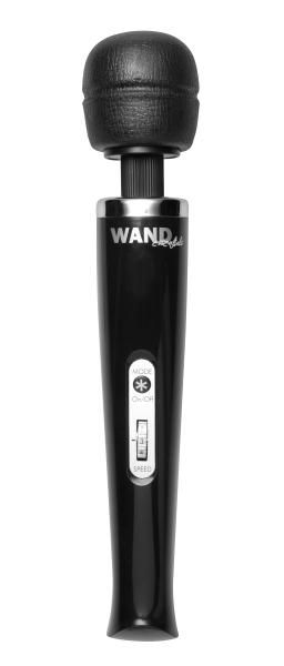 Enjoy the erotic side of massage with your Wand Essentials 8 Speed 8 Mode Rechargeable Massager. Try out all eight of the amazing vibration speeds and pulsation modes to find your perfect pleasure combination. Whether you choose a lower speed to sooth and tease or a higher speed to massage and stimulate, you are sure to find a sensation that is perfect for whatever you crave. The pliable massage head is attached to a flexible neck that bends as you apply pressure. Lightweight and quiet…