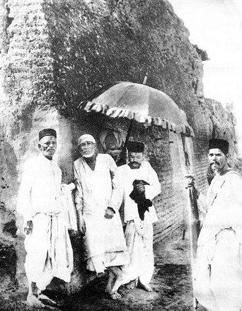 Shirdi Sai Baba: A rare photograph of the saint