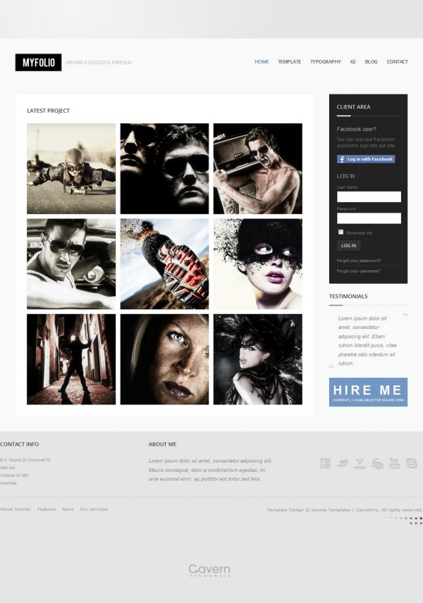 31 best Gavick Pro Templates Joomla images on Pinterest | Joomla ...