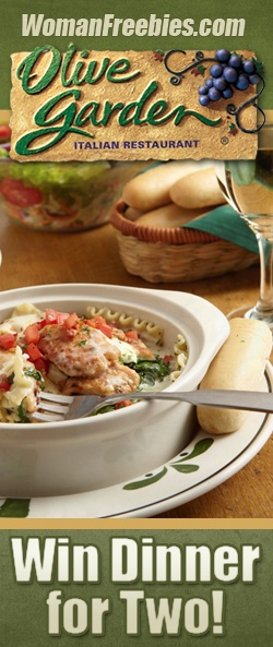 The FREE Dinner at Olive Garden GIVEAWAY
