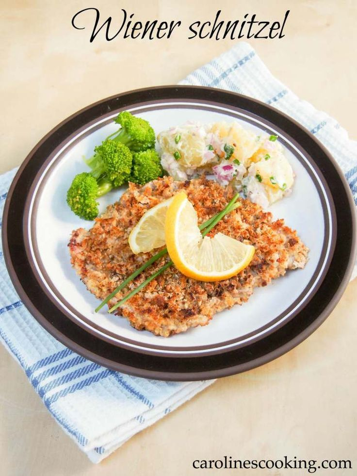 Wiener schnitzel #SundaySupper - the classic breaded veal escalope from Austria, a favorite with adults and children alike. Easy to make, a great family-friendly dinner.