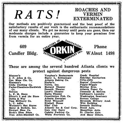 17 Best images about Orkin History on Pinterest | Brand ...