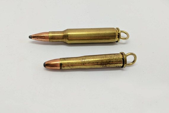 Bullet pendant   223 or 22 hornet casing