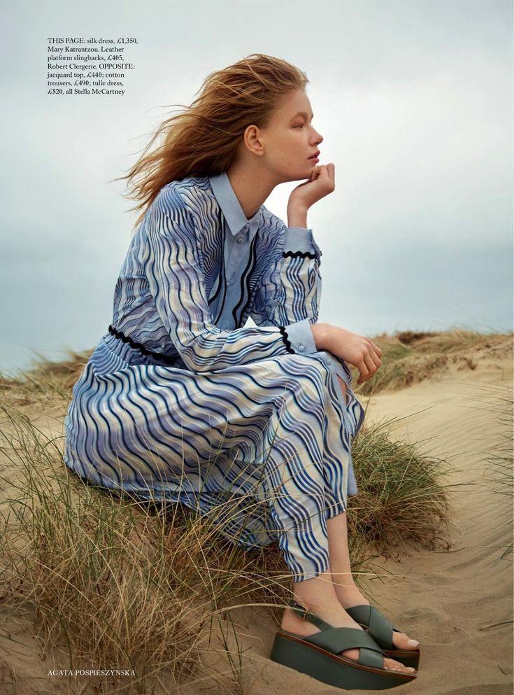 "Duchess Dior: ""Beside the Silver Sea"" Hollie May Saker for Harper's Bazaar UK July 2016"
