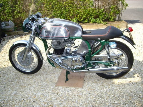 norton 650ss manx style cafe racer for sale (1961) | motorcycles