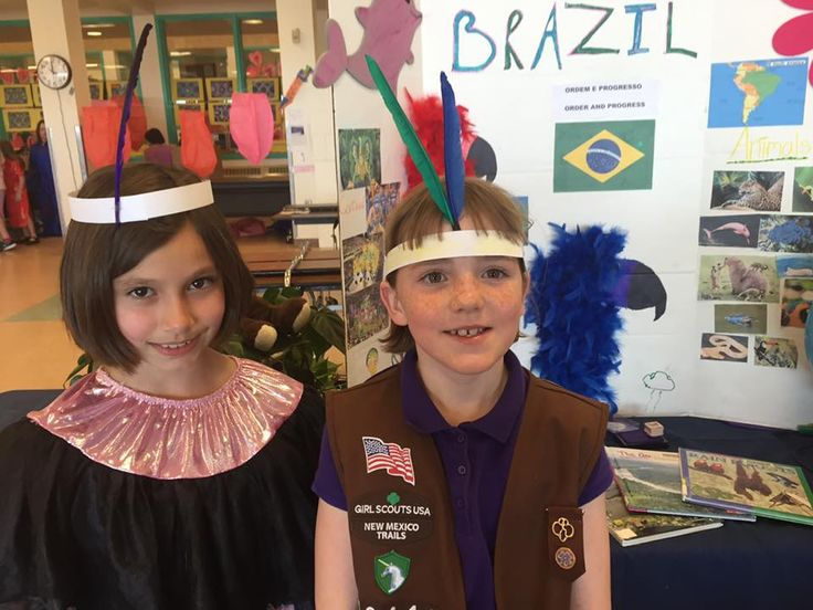 MakingFriends Brazil | World Thinking Day Ideas Rainforest animals, soccer and the 2016 Olympics make excellent themes for SWAPs, activities and decorations for your Girl Scout Thinking Day or International celebration if you chose Brazil.