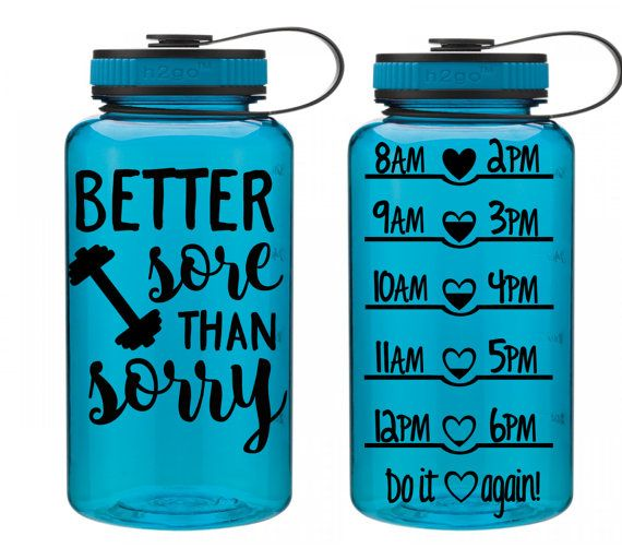 image Water bottles for weights on cunt lips
