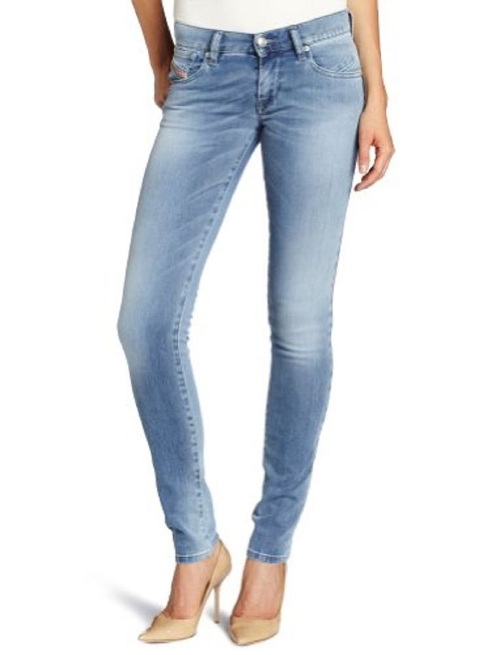 Ladies low rise skinny jeans
