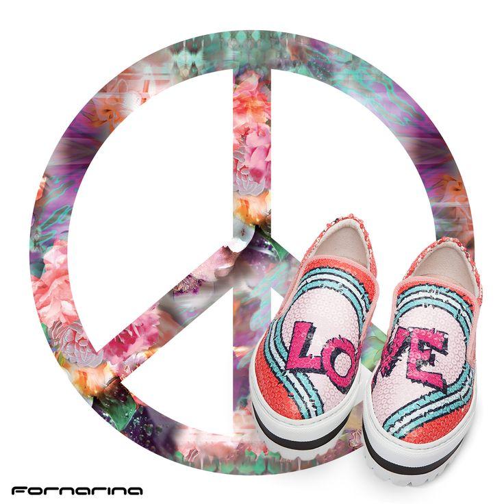 #fornarina # shoes #pop #love #smack #FornarinaShera #peace&love