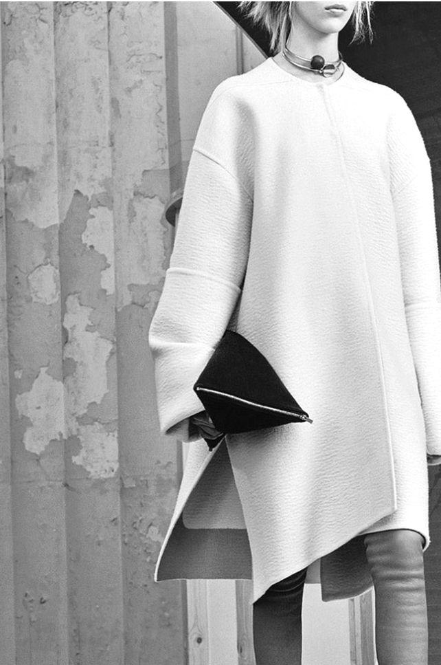 the coat….LA COOL & CHIC