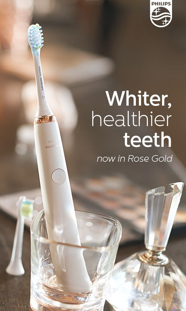 Get whiter, healthier teeth from our most elegant Phillips Sonicare ever – or gift it for the holidays. Visit Phillips.com to learn more.