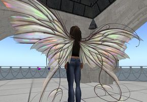 How to Make Movable Wings | Gorgeous Textures and First Life Crossover: Fancy Fairy Wings