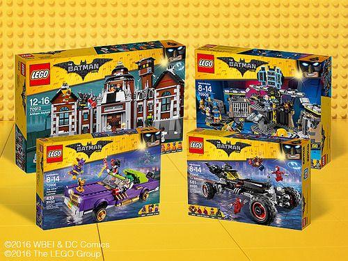 The LEGO Batman Movie Boxart