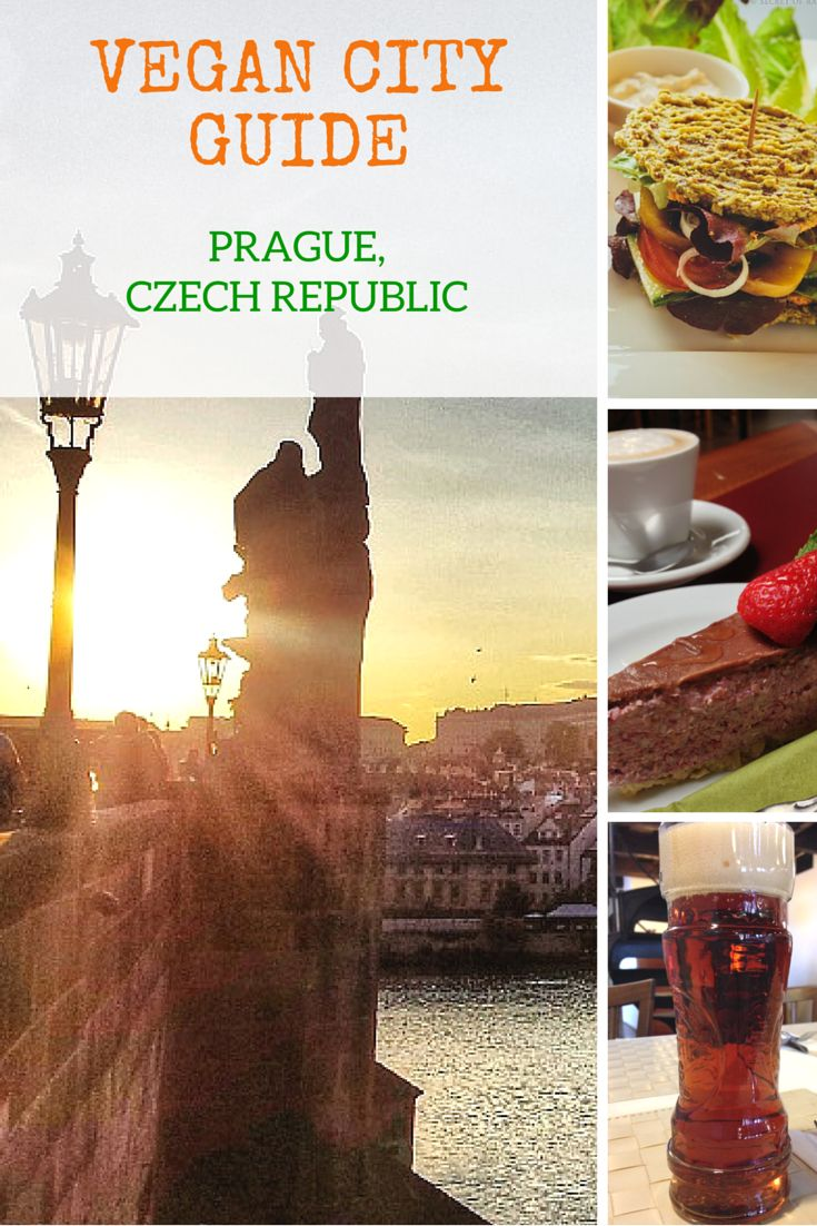 A Vegan Guide to Prague, Czech Republic - My article about all the amazing vegan food in Prague and why it is a vegan paradise. #vegantravel
