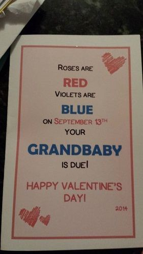 11 adorable Valentine's Day pregnancy announcements | #BabyCenterBlog #pregnancyannouncments