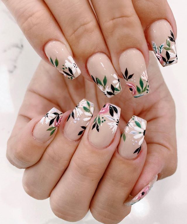 Spring Nail Trends For 2020 Page 12 In 2020 Spring Nail Art