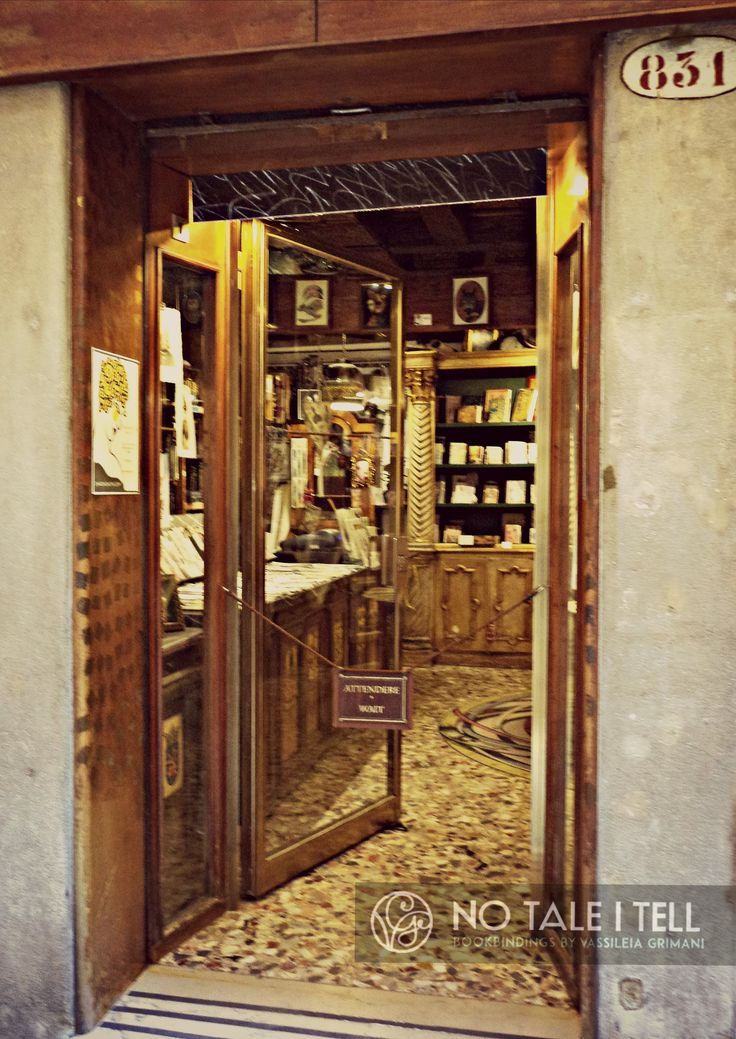 Charta: The art of new Venetian bookbinding, by Dario Ustino. Venezia <http://www.chartaonline.com/> Click here to view Ustino's atelier: <https://www.youtube.com/watch?v=qIGggINtGes>