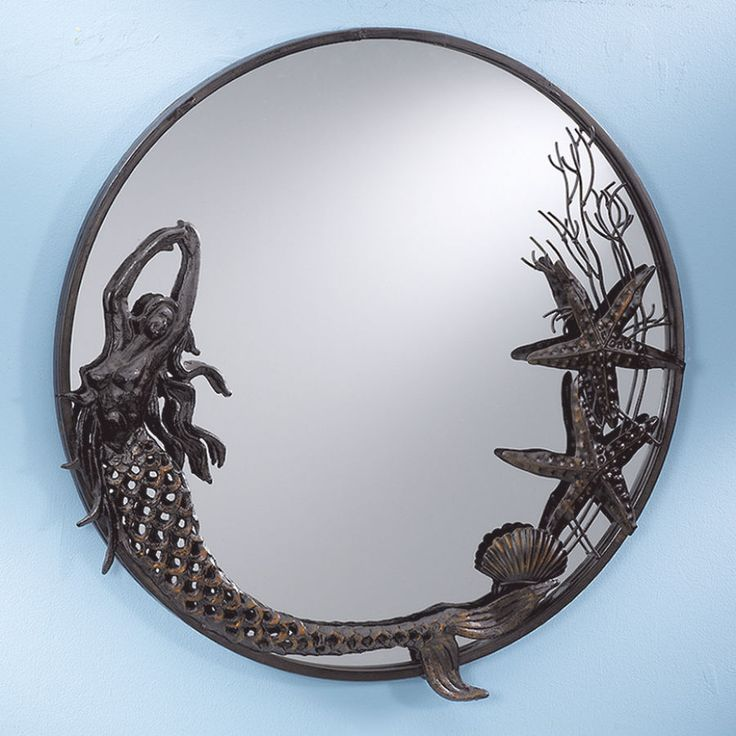 Mermaid Mirror Stylish Home Accents And D 233 Cor Graceful