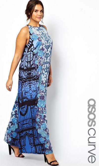 Модные платья и сарафаны 2014 для полных красавиц 40-50 лет | Trendy-u.ru
