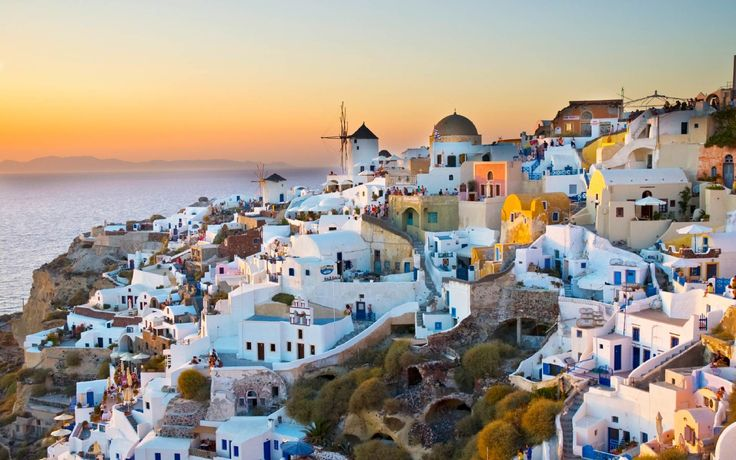 When the boys are old enough, I'm leaving the country for here... Oia, Santorini, Greece.