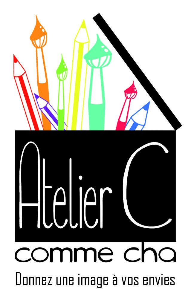 Logo Atelier C comme Cha