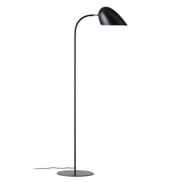 Hitchcock Matte Black Floor Lamp by Frandsen Lighting