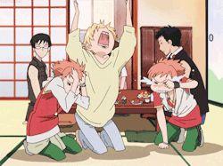 anime kaoru ouran high school host club ouran hikaru anime gif ...