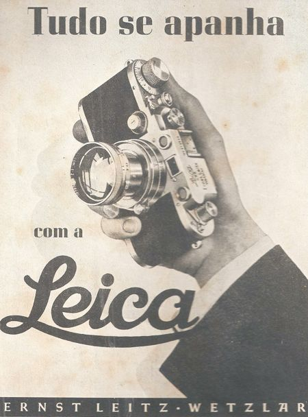 Poster Leica - Portugal (Everything is caught with Leica)