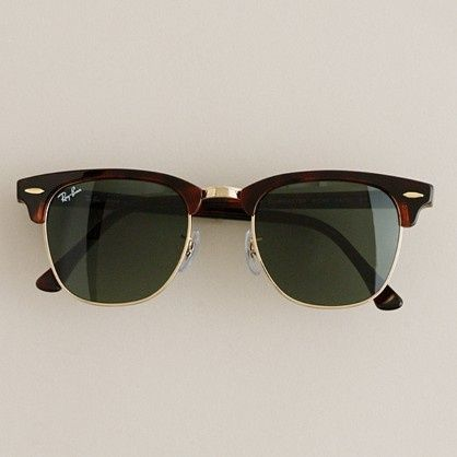 Ray-Ban Clubmaster Sunglasses,Sale only $15, pick one? Of cause not, you should make it dozen | See more about sunglasses.