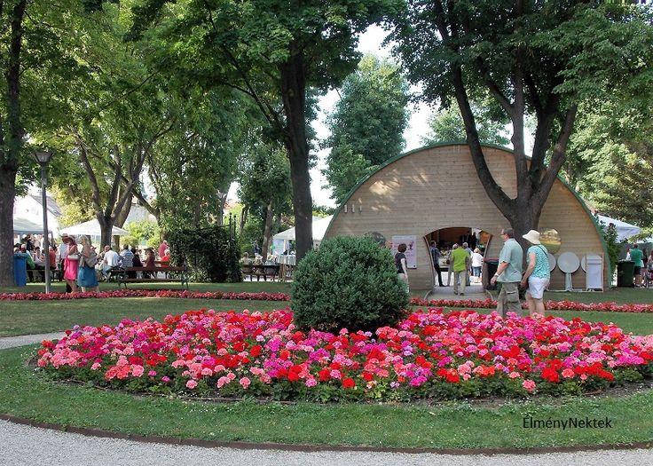 Burgenland+dimbes-dombos+vidékén,+a+Rosalia-Kogelberg+Naturparkban+találjuk+Bad+Sauerbrunn+(Savanyúkút)+települést.+Különösen+júniusban+látványos+ez+a+monarchia-korabeli+hangulatot+árasztó+üdülőhely,+ilyenkor+ezerszám+pompáznak+a+szebbnél+szebb+rózsák+a+parkjában.+Az+Osztrák-Magyar+Monarchia…