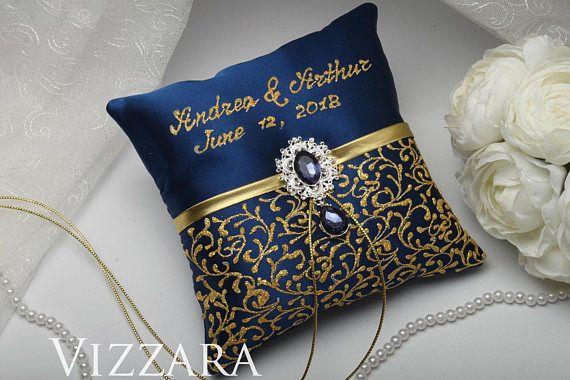 Burlap Ring Bearer Pillow Navy Wedding Cheap Ring Bearer Etsy Burlap Ring Bearer Pillow Wedding Pillows Ring Pillow Wedding