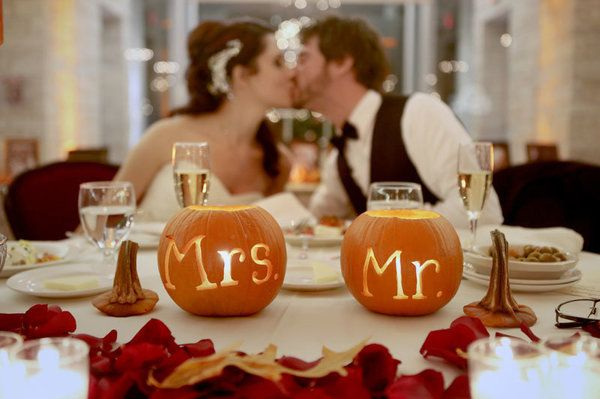 Pumpkin table decor | Jeremy Lawson Photography